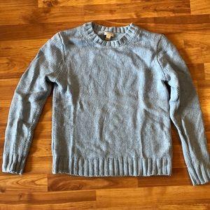 J. Crew baby blue sweater